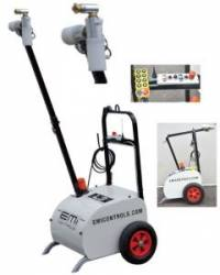 ColdMist L3 Dust Control system with 360° oscillation and complete remote control function